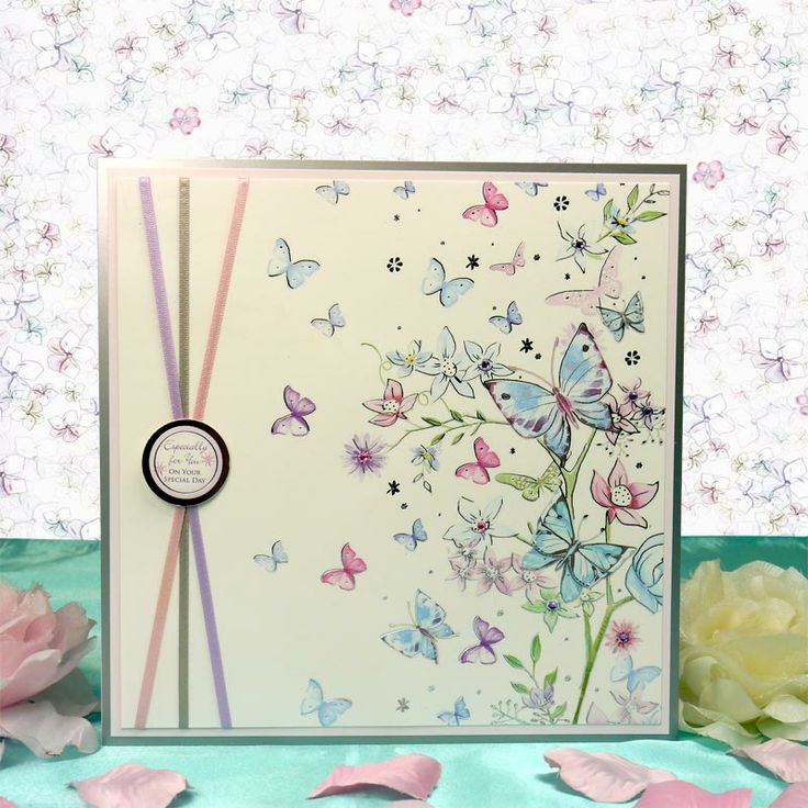 From the Heart by Hunkydory Crafts. Card made using 'From the Heart Luxury Card Collection'