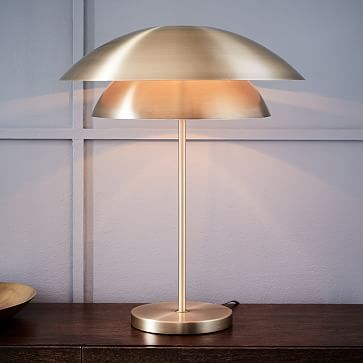 Tiered Shade Table Lamp