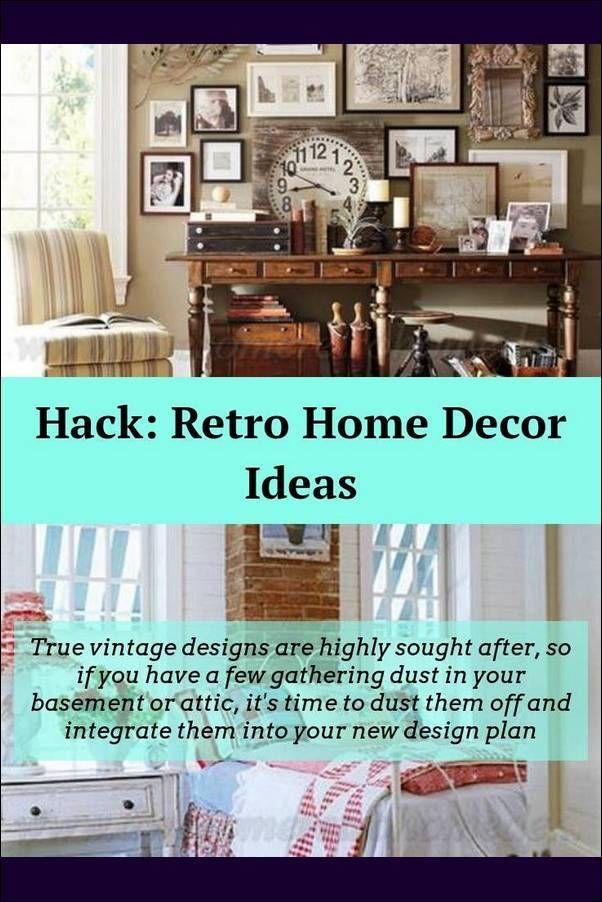 Retro Home Decor Furnish Your