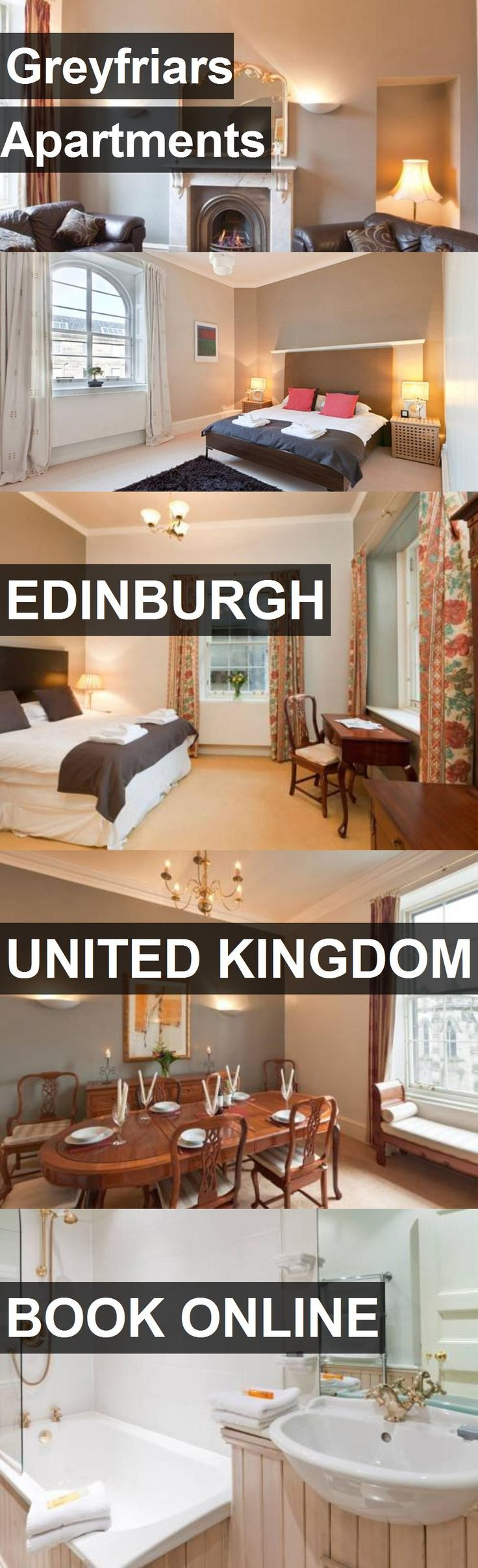 Greyfriars Apartments in Edinburgh, United Kingdom. For more information, photos, reviews and best prices please follow the link. #UnitedKingdom #Edinburgh #travel #vacation #apartment