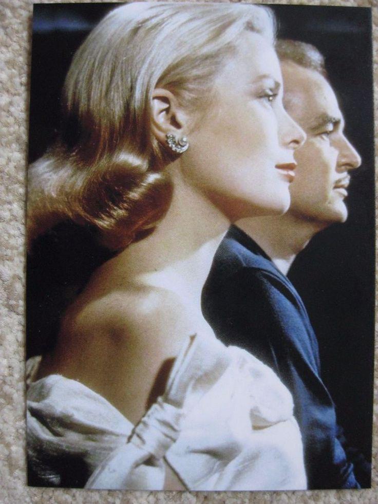 Karte Fürstin Gracia Patricia - Fürst Rainier von Monaco - Grace Kelly