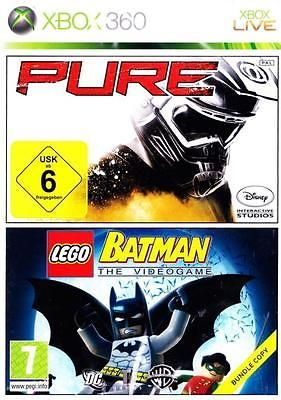 Pure & lego #batman the #videogame xbox 360 game uk #pal*bundle copy* 2 disc,  View more on the LINK: http://www.zeppy.io/product/gb/2/282241185286/