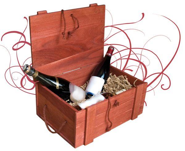 Caja Teñida Con Cierre Y Asa Cajas De Vino Cajas Estuche