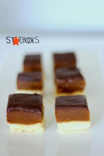 Cibo: #Shortbread al #caramello salato e cioccolato (link: http://ift.tt/2emcIdh )