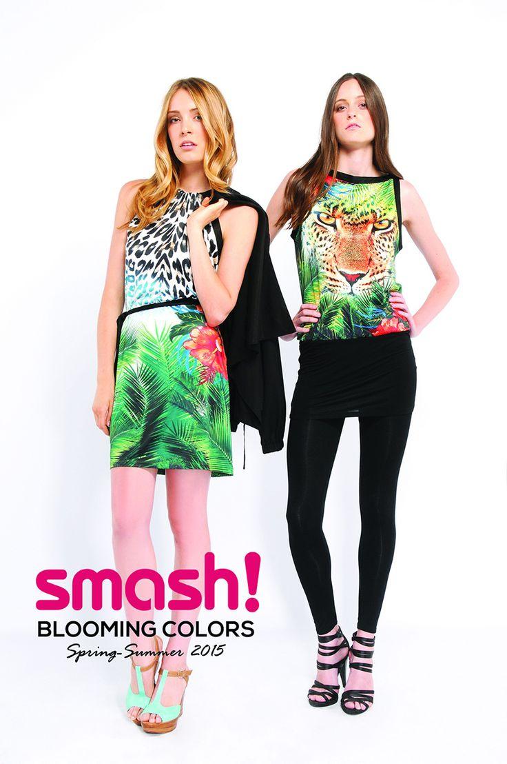 #summer #dress #smash #barcelona #animalprint #green #tiger