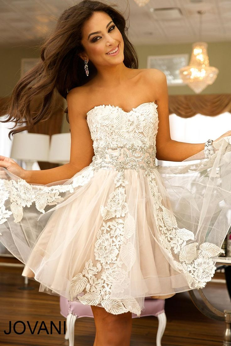 short cocktail wedding dress