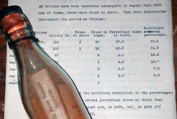 Message in a bottle, promising finder a shilling, bobs up after 108 years Communication thrown into sea by Plymouth biologist in 1906 and found by German woman confirmed as oldest in the world When the distinguished marine biologist threw his message in a bottle into the sea, asking whoever found it to contact him, he wasn't expecting a speedy response. Which is just as well, because it took […]