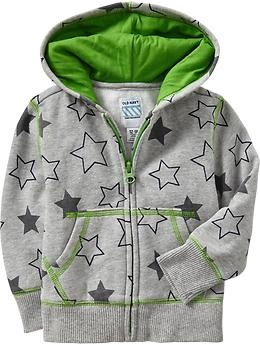 Printed Fleece Hoodies for Baby | Old Navy