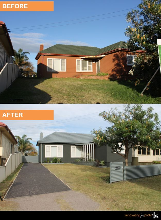 #home #renovation #facade See more exciting projects at: www.renovatingforprofit.com.au