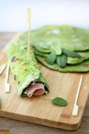 piadine agli spinaci