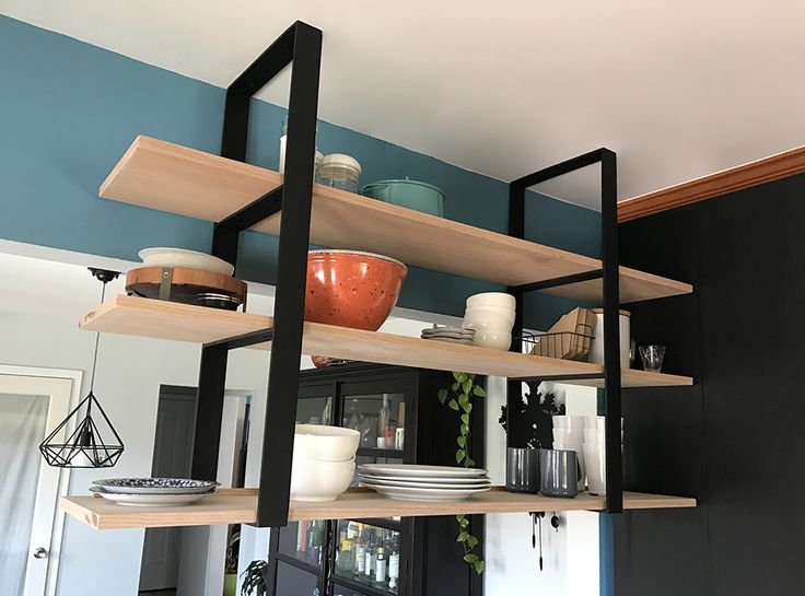8 Best Shelves Hanging From Joists Images On Pinterest