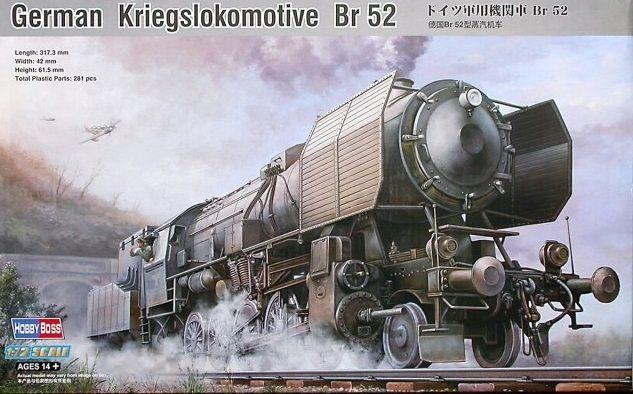 Hobby Boss 82901 German Kriegslokomotive BR52