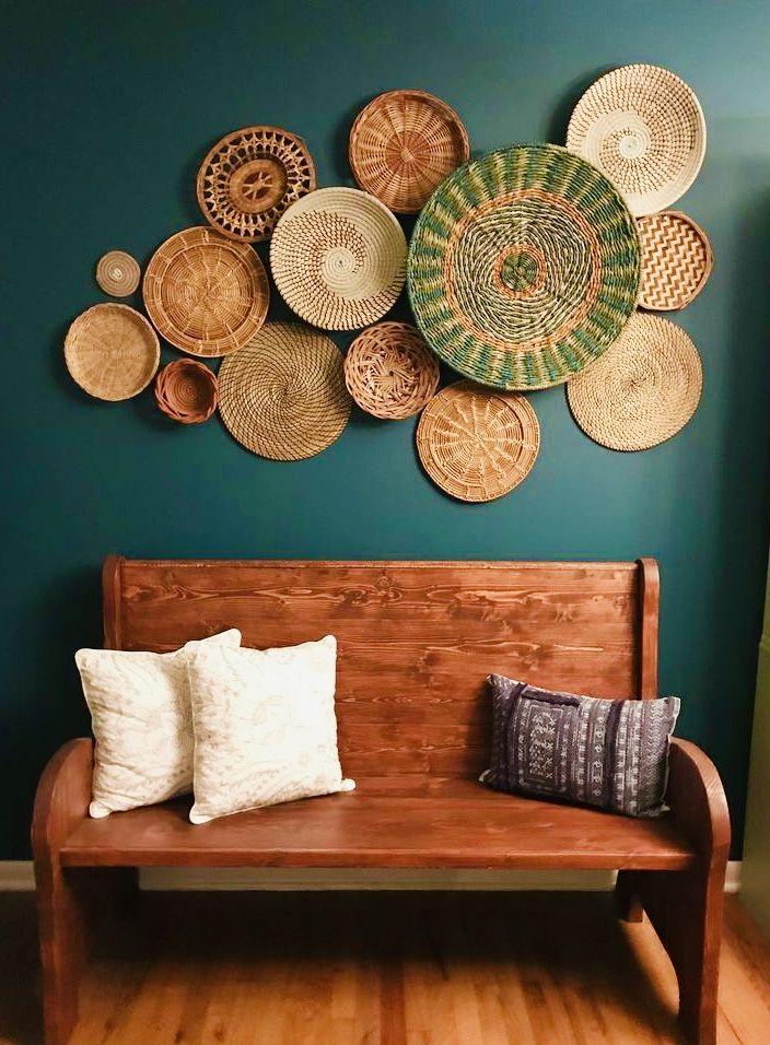 Pin By Pradeep Saigal On Home Designs Furniture Basket Wall