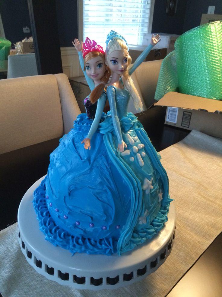 Best 25+ Frozen doll cake ideas on Pinterest Frozen ...