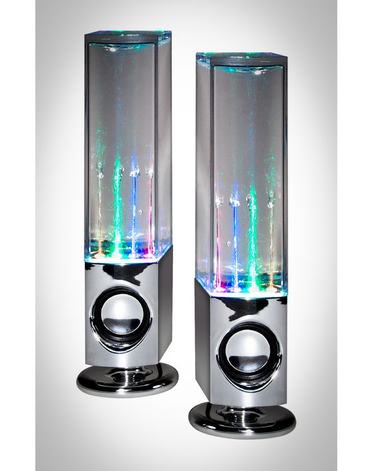 Water speakers
