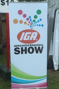 IGA banner.