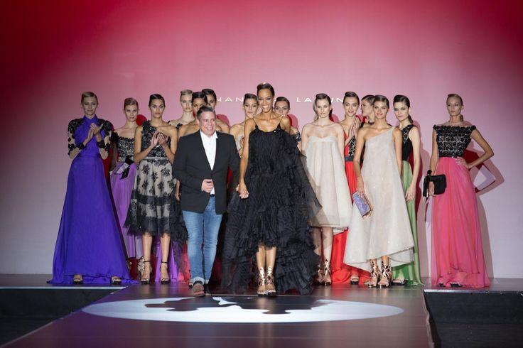 Colección Azabache en la Fashion Week de Madrid #HannibalLaguna