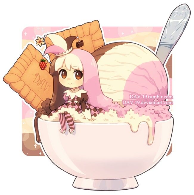 42 best Anime food chibis images on Pinterest Anime