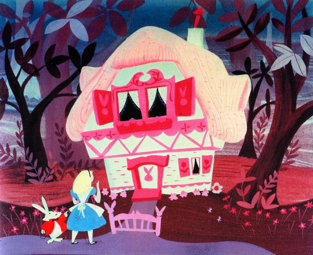 Alice In Wonderland (1951) | 50 Beautiful Pieces Of Concept Art From Classic Disney Movies