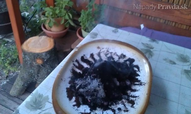 Proti komárom... kávou.