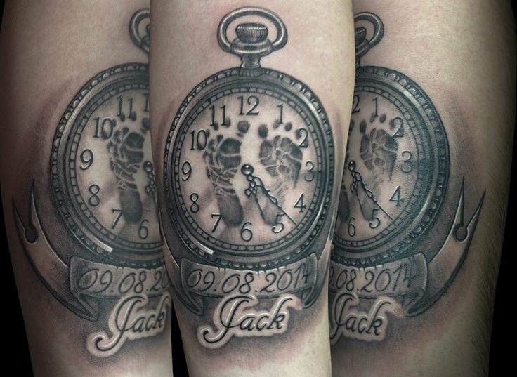 I love this idea you can show the time they was born put for What do you put on a tattoo