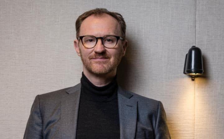 Endearingly boyish: Sherlock's Mark Gatiss