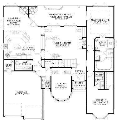 301 best Floor Plans images on Pinterest | Floor plans, Home plans ...