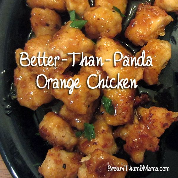 "Just say ""NO!"" to takeout and make homemade orange chicken that's better than Panda!"