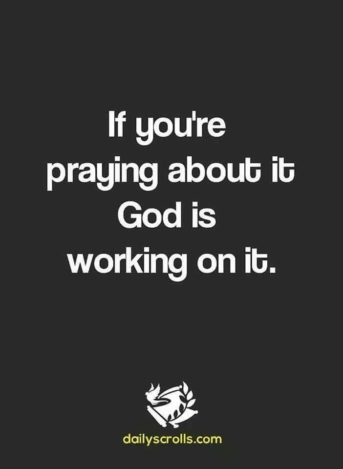 I am PRAYING. GOD IS BIGGER THAN ANYTHING AND WILL PROSPER.