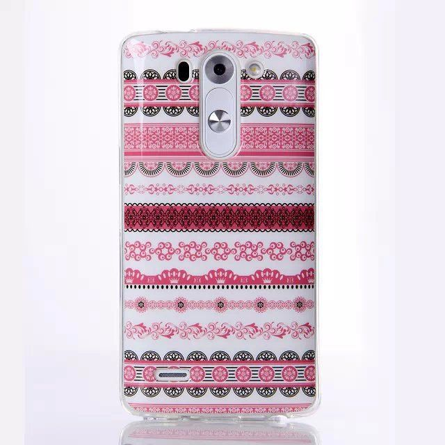 Bling Glitter Cute Owl Aztec Dots Soft Back Cover for LG G3 S / LG G3 Beat / LG G3 mini / LG B2 mini TPU Silicone Phone Cases
