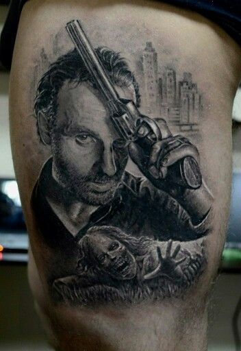 17 best images about tattoos on rick grimes