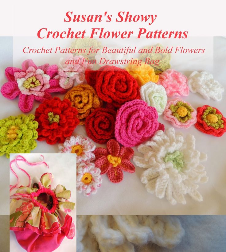 17 Best images about crochet flowers on Pinterest ...