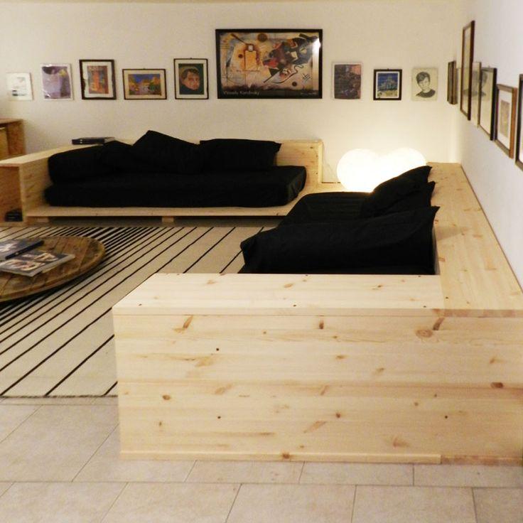 Oltre 25 fantastiche idee su divano pallet su pinterest - Mobili da cantina ...
