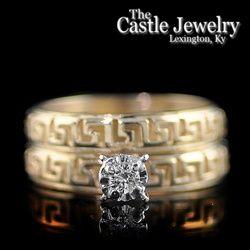 23 best Wedding ring images on Pinterest Wedding bands Greek