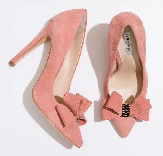 Oroton Pink Suede 'Sepia' Pumps         Bought these beauties today. Can't wait to wear them, they are super comfy!
