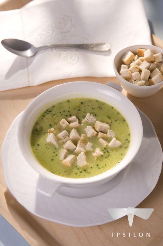 Krem z brokułów #przepisy #spizarniasmakow #zupa #zupy #krem_z_brokulow