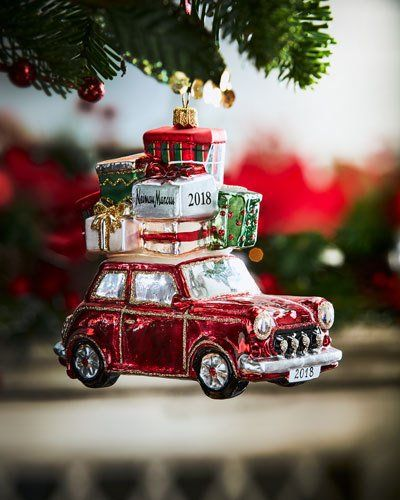 Car With Presents Christmas Ornament - Car With Presents Christmas Ornament Products Christmas