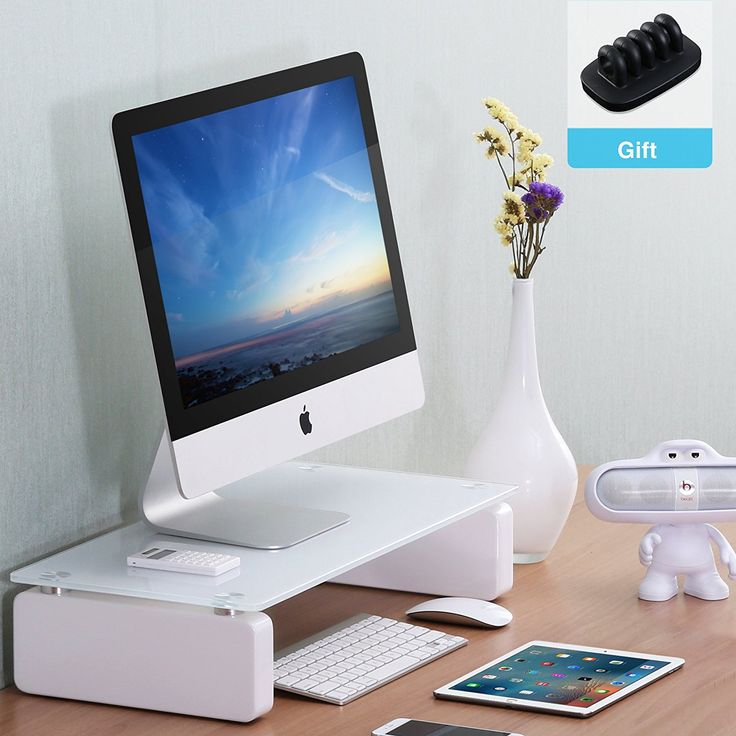 56 best computer monitor riser stand images on Pinterest   Monitor ...