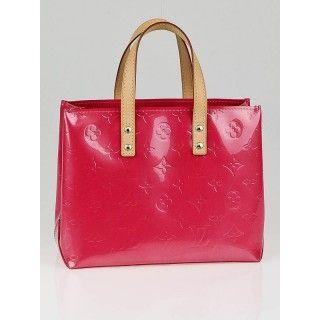 Louis Vuitton Framboise Monogram Vernis Reade PM Bag