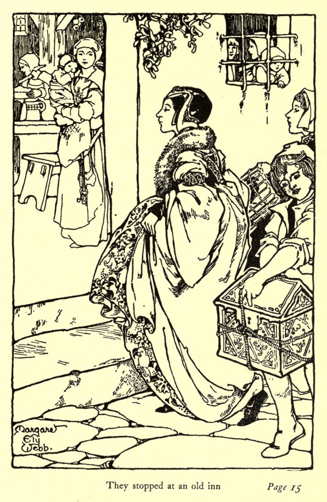 The court jester' by Cornelia Baker; with illustrations by Margaret Ely Webb and Margaret H. Deveneau. Published 1906 by The Bobbs-Merill Company