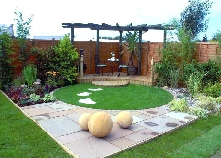 circle garden design