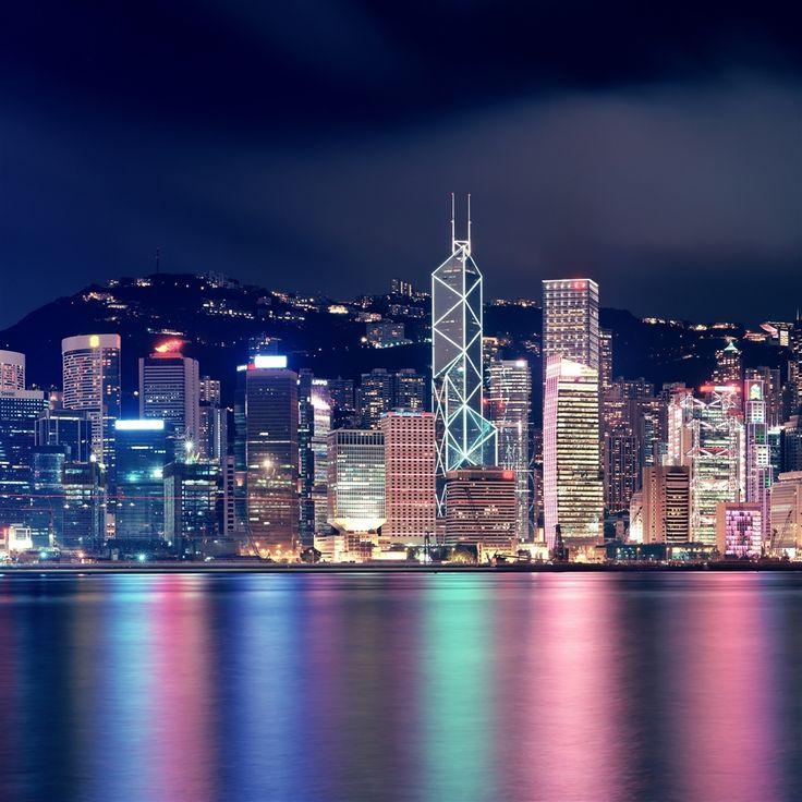 Amazing Hong Kong: Hong Kong Skyscrapers Retina IPad Wallpaper. #iPad