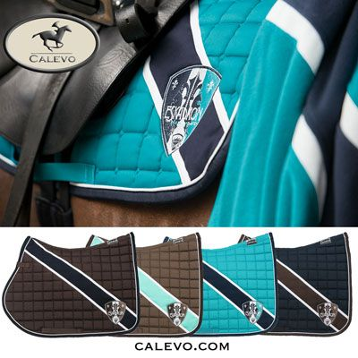 We like horses#emma-eventing.com - Schabracke BICOLOR - CLASSIC SPORTS -- CALEVO.com Shop