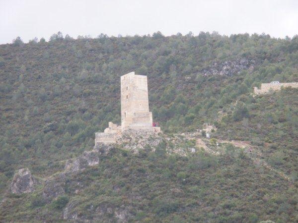 Castillo de Carrícola (Vall d'Albaida).