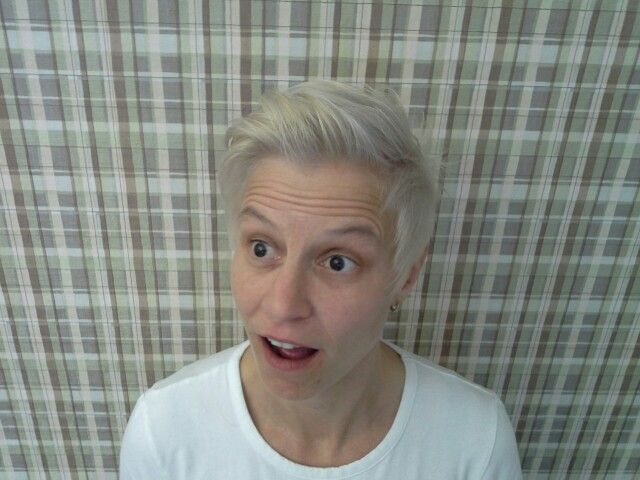 I'm blond