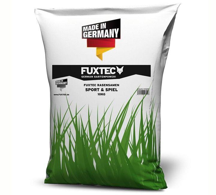 Travní semeno, směs na trávník pro sport a hry 10 kg - travní směs FUXTEC pro hru a sport vám vytvoří perfektní rodinný trávník. Robustní a regeneračně silný, ideální pro hraní, dovádění a relaxaci.