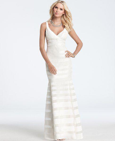 Silk Georgette Mermaid Wedding Dress
