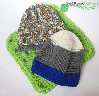 Two winter caps