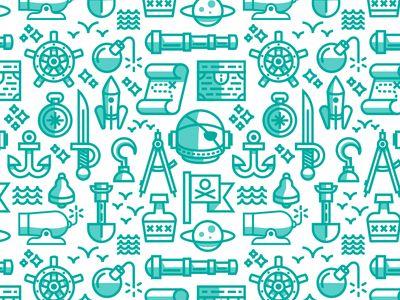 Space Pirate Pattern