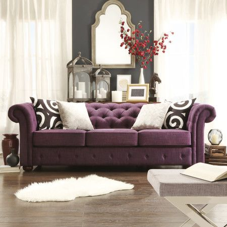 found it at wayfair   carthusia tufted button sofa in